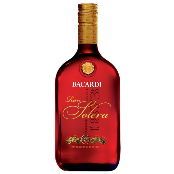 Ron Bacardí  Solera 1,000 ml