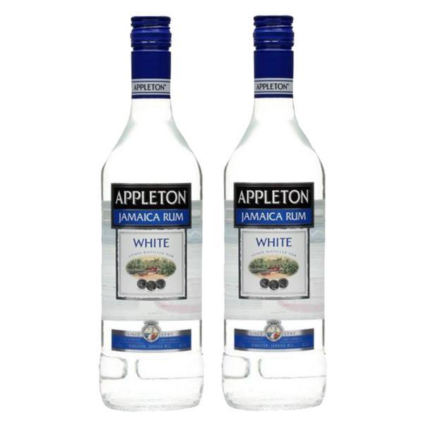 Ron Appleton Blanco 2 botellas 750 ml