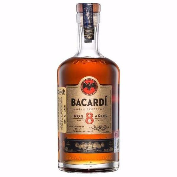 Ron Bacardí  8 700 ml