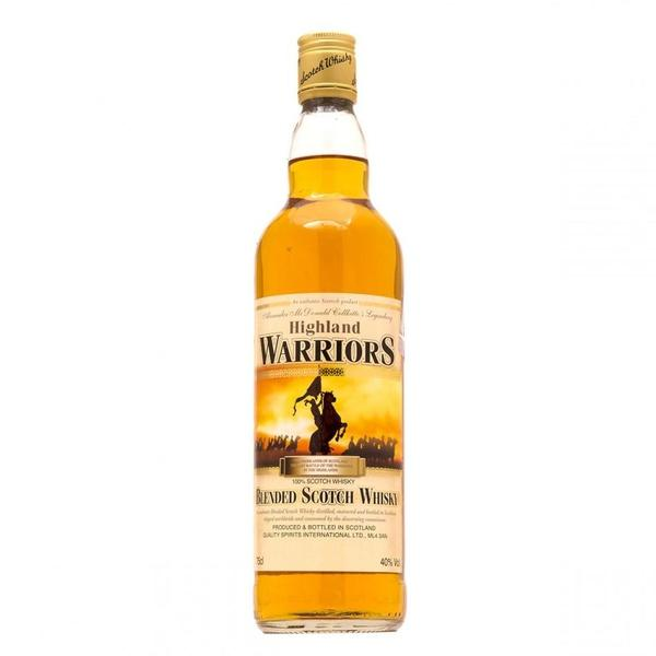 Whisky Highland Warriors Scotch 750 ml