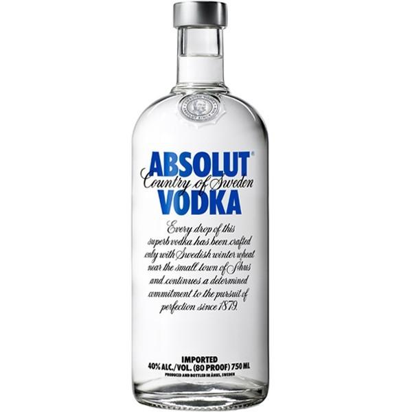 Vodka Absolut Regular Azul 750 ml