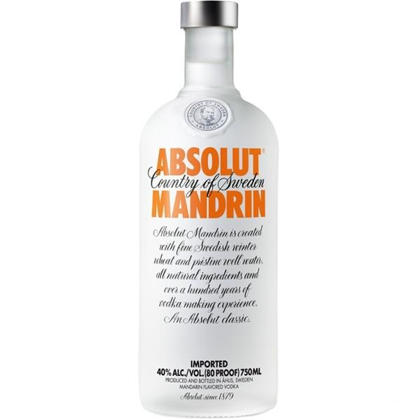 Vodka Absolut Mandrin 750 ml