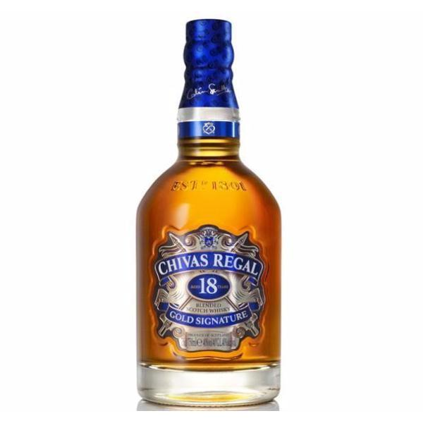 Whisky Chivas Regal 18 Años 750 ml