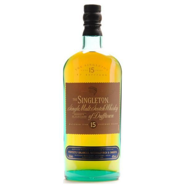 Whisky Singleton 15 años 750 ml